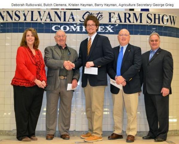 Kris Hayman Farm Show Scholarship