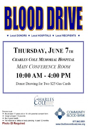 June Blood Drive