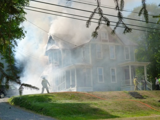 House fire coudersport