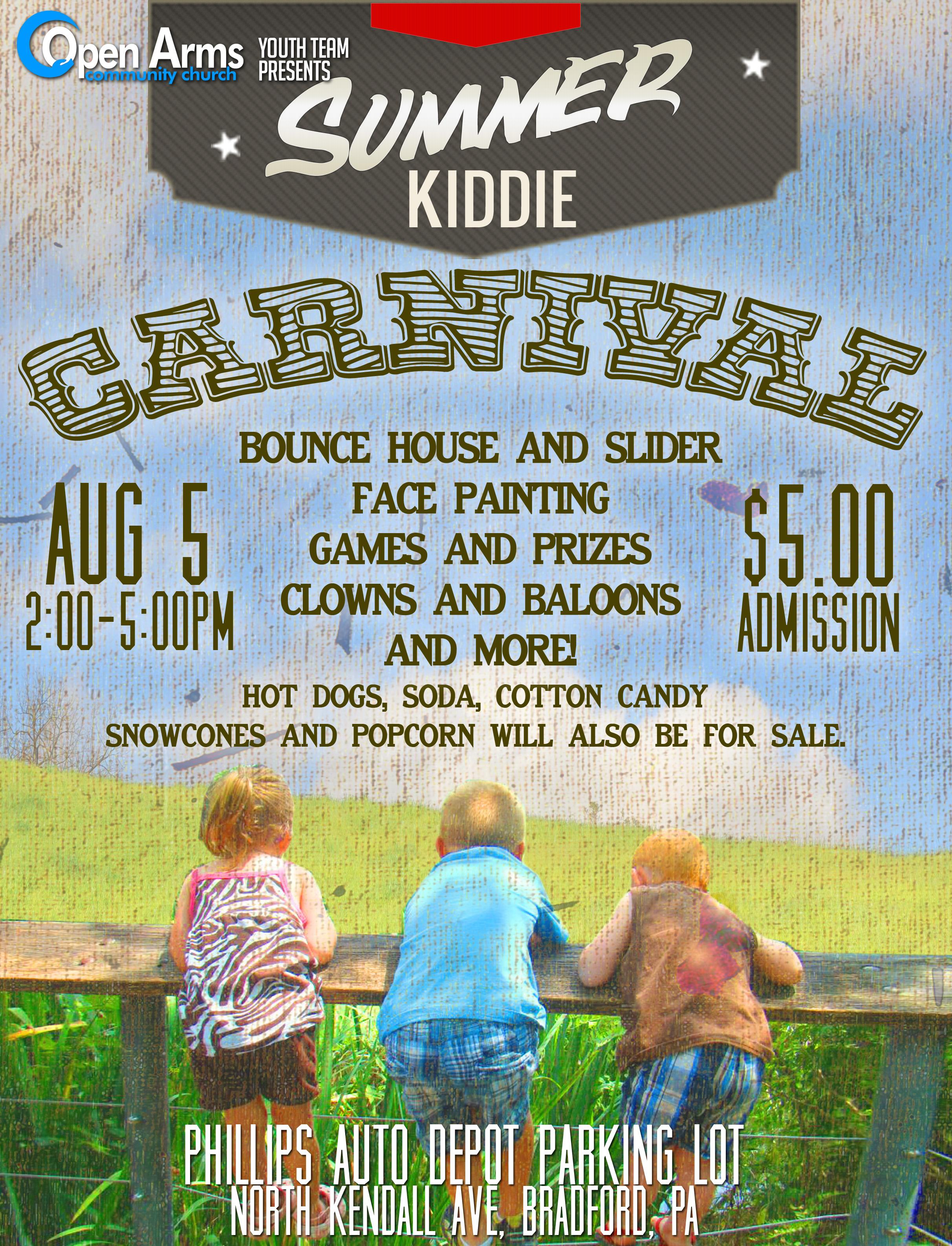 Summer Kiddie Carvinal
