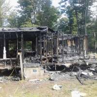 family whose house burned September